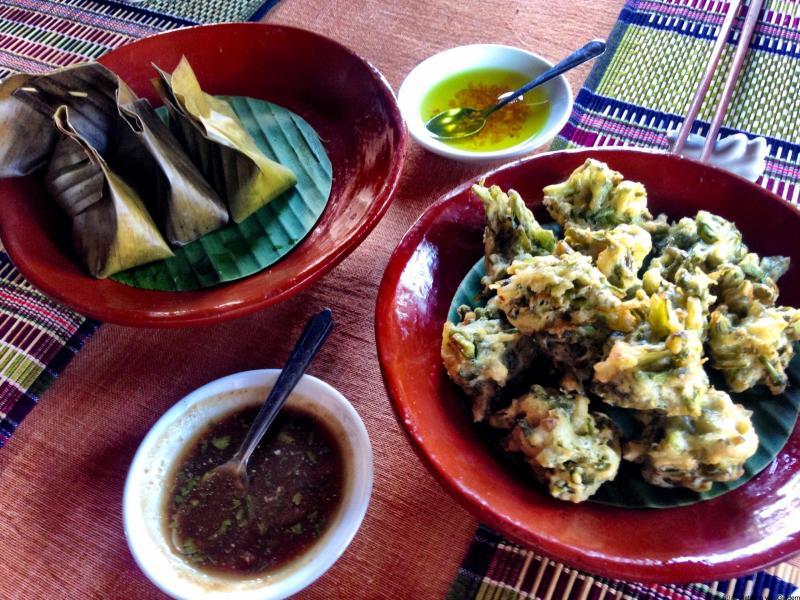 Shan State food at Inle Lake