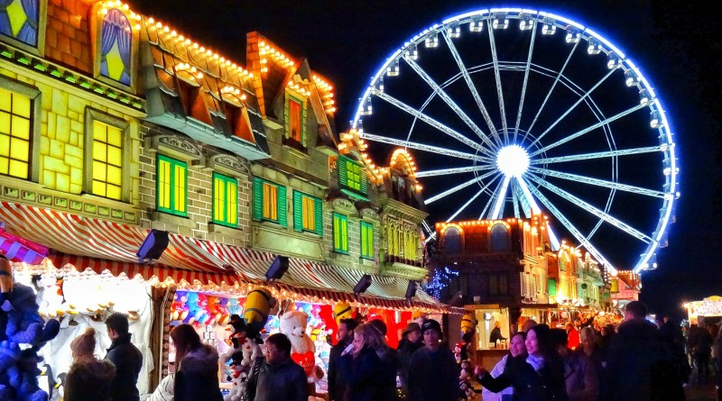 Christmas market London Winter Wonderland