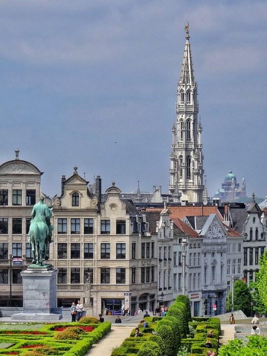 Kunstberg Mont des arts Brussels