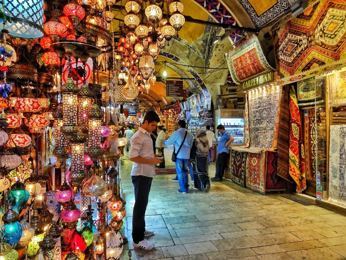 Free attractions Istanbul Grand Bazaar
