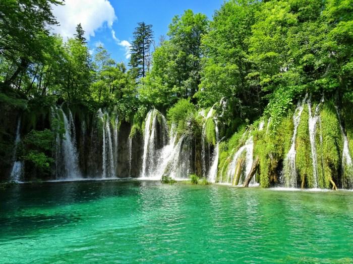 Plitvice Lakes Pevalek Falls