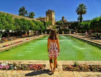 one day in Cordoba Alcazar Reyes Cristianos