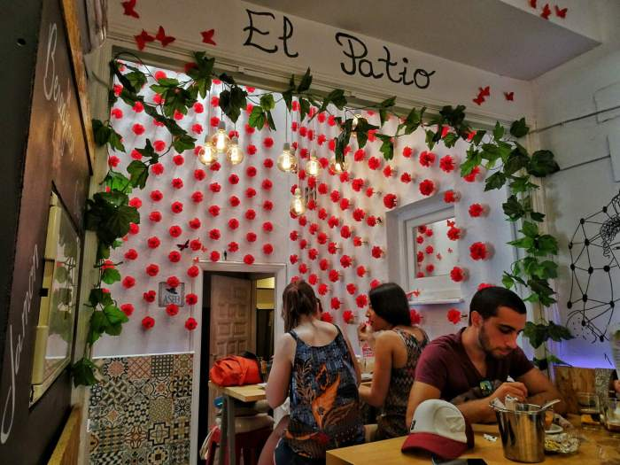 One day in Cordoba El Abanico