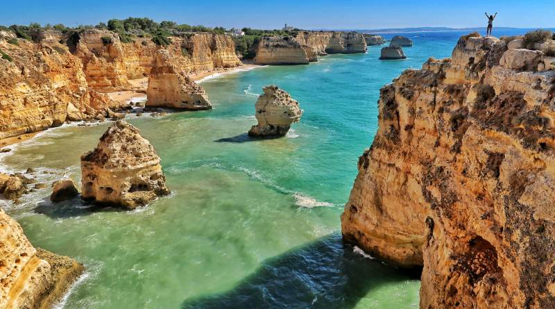 Algarve Portugal Cliffs