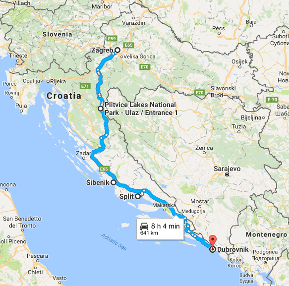 Croatia Road Trip Itinerary The Ultimate Guide From