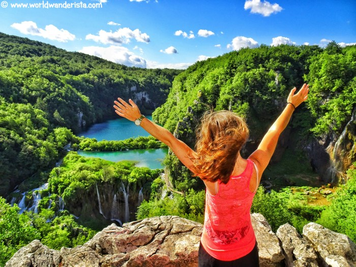 Croatia roadtrip Plitvice Lakes