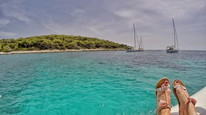 Boat trip Croatia Blue Lagoon