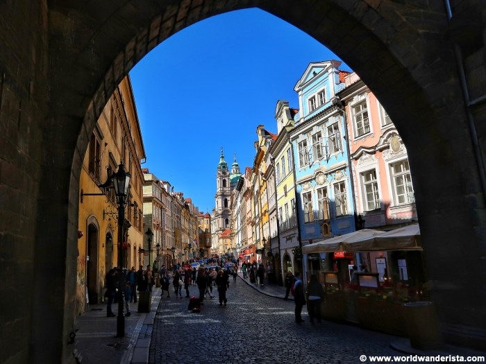 Bucket list Prague Nerudova