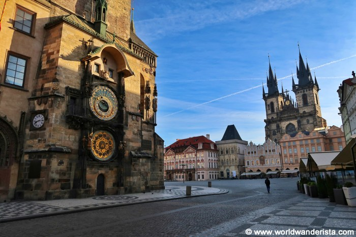 Prague bucket list Old Town Square