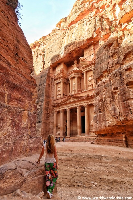Two days in Petra Treasury