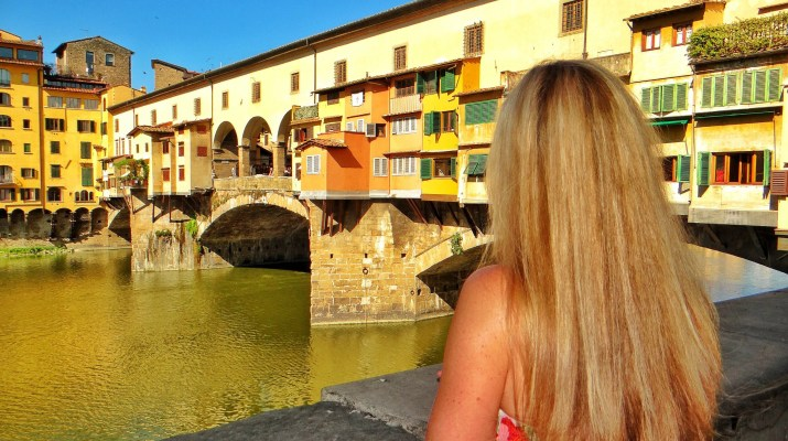 One day in Florence - ponte vecchio