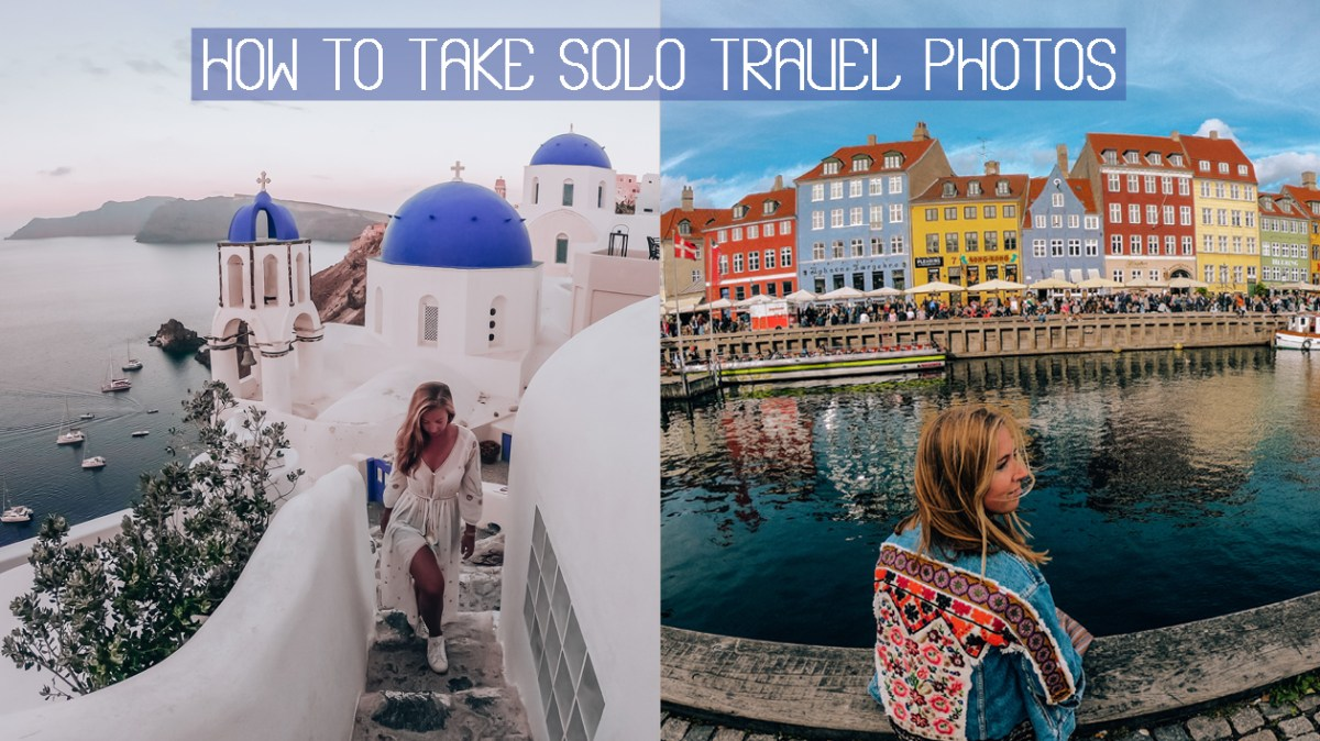 How to take your own solo travel photos?