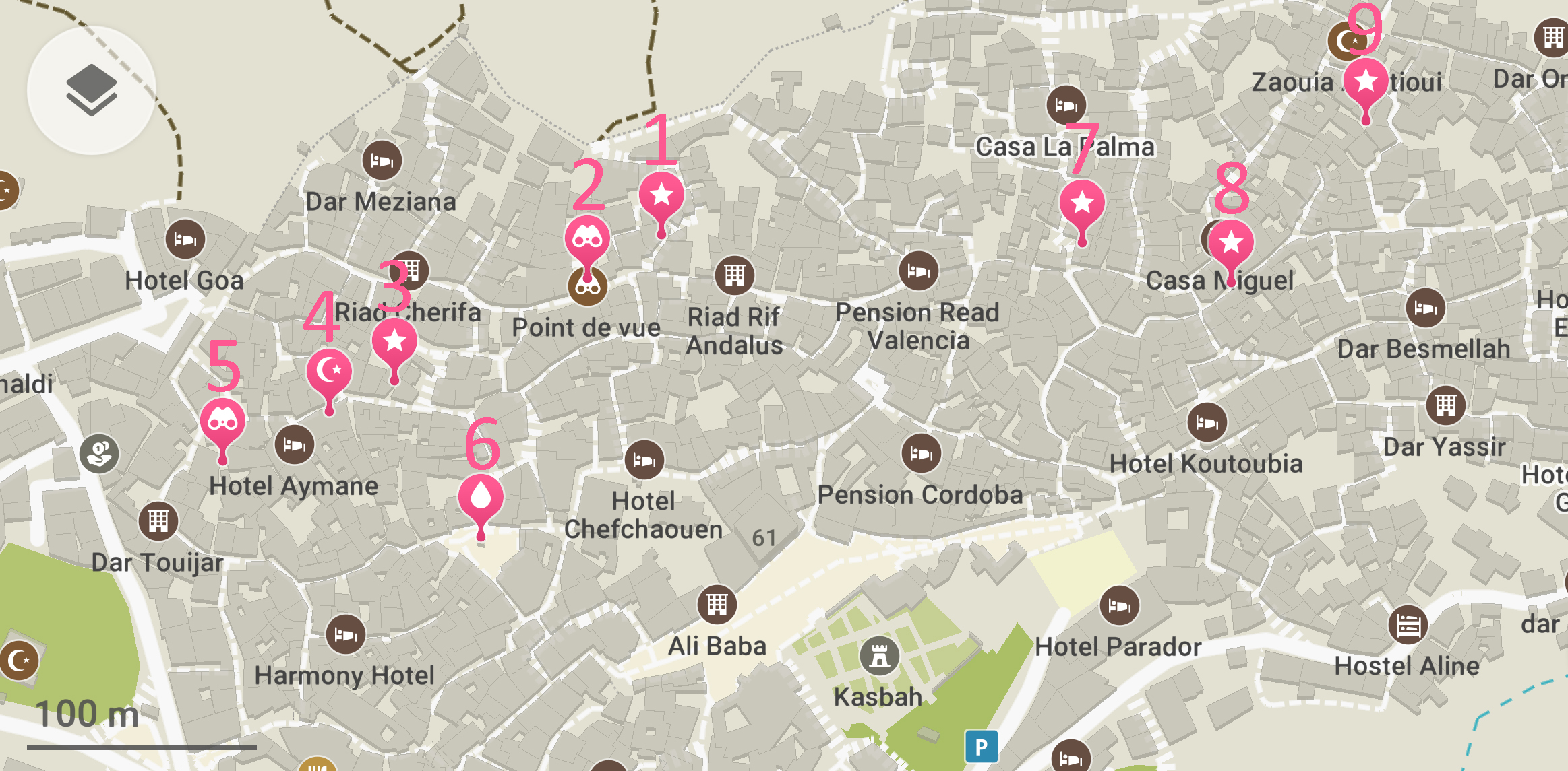 Where To Find The Best Chefchaouen Photo Locations Including Map