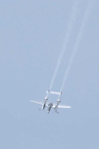 Lockheed P-38L Lightning N25Y - 02 Flying Legends 2015