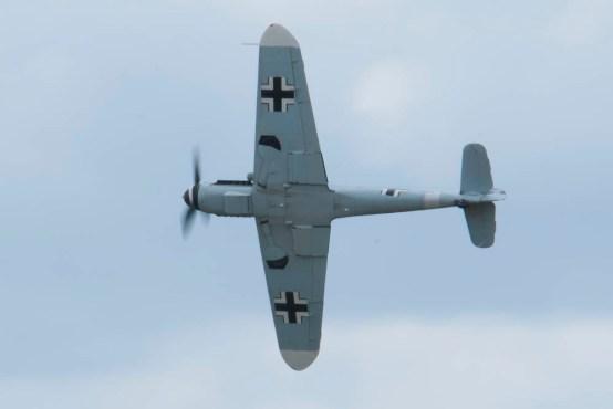 Messerschmitt Bf 109G D-FWME Flying Legends 2015 - 01