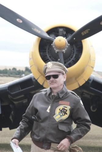 Reenactors 01 Flying Legends 2015