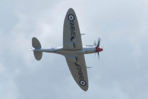 Spitfire Mk XVIII SM845 Flying Legends 2015