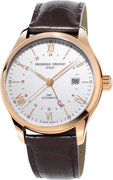 The acronym GMT refers in the watchmaking industry to a second time zone indicator.