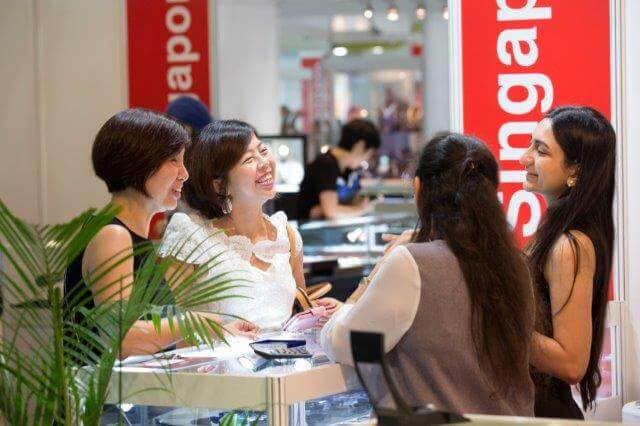 Singapore Jewellery Gem Fair takes place from 4 to 7 November at the Marina Bay Sands Expo and Convention Centre