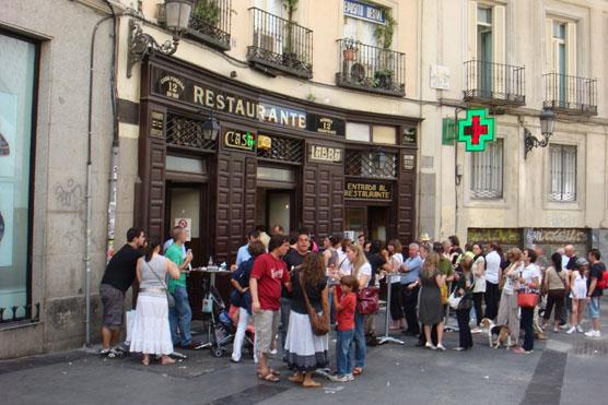 A popular tapas restaurant