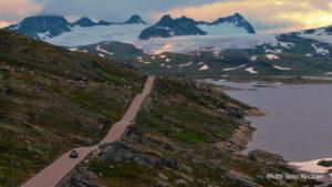 A view from Riksveg 55 at Sognefjellet. Photo: Simo Räsänen