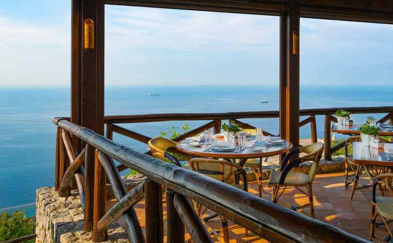 restaurants yacht Mediterranean, Ristorante Il Refettorio, Italy
