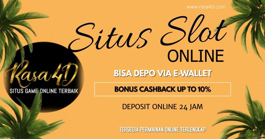 Judi Slot Online Via Ewallet Cashback Terbesar Depo 24Jam Online
