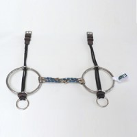 Square Twisted Barrie Big Ring Gag