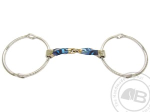 Square Twisted Snaffle Gag