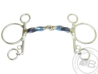 Square Twisted Snaffle Pelham