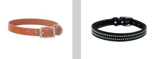 Weaver dog collars
