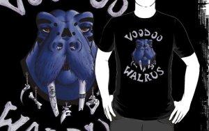 Voodoo walrus t-shirt