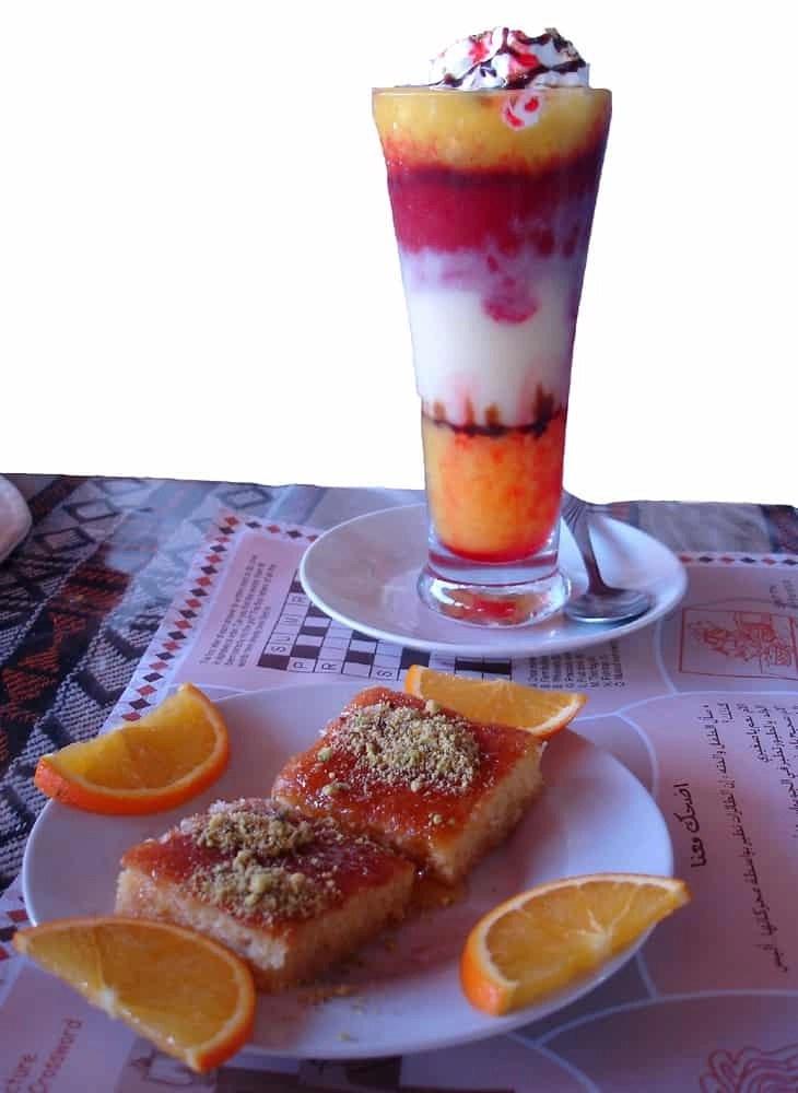 Cornich Cocktail at the Corniche Cafe, Muscat