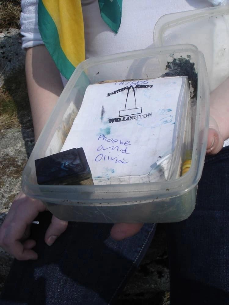 Dartmoor letterbox