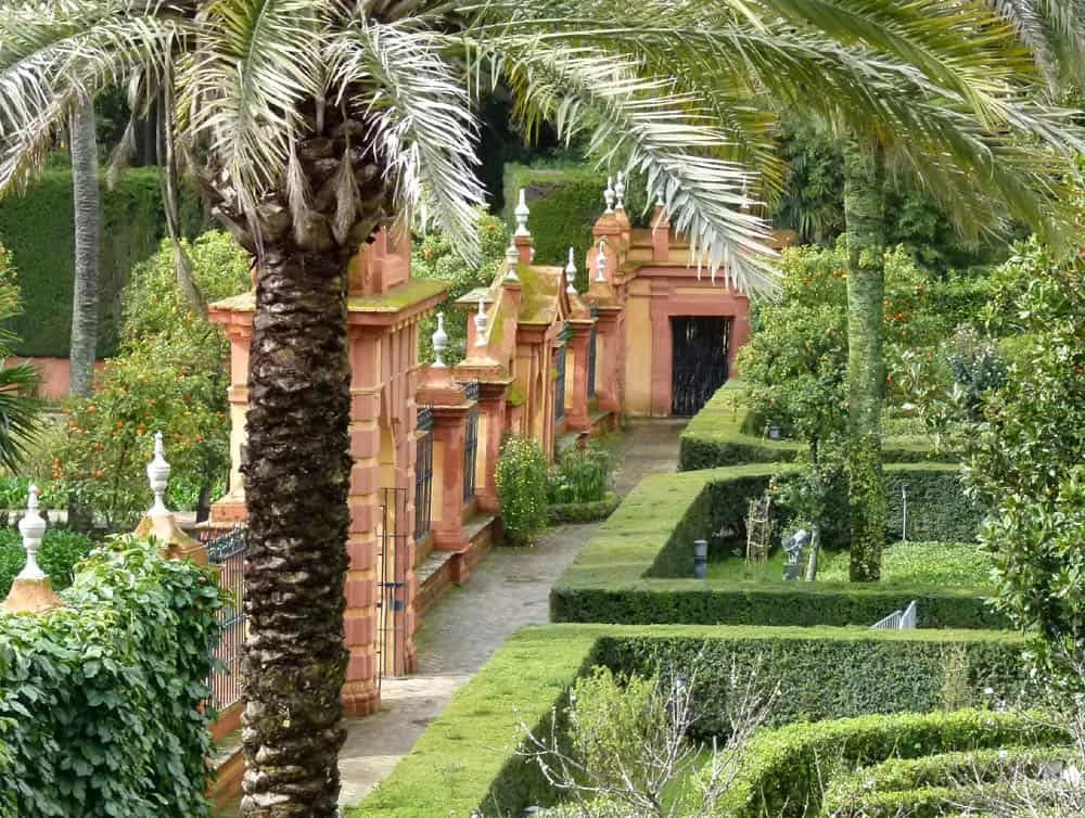 Gardens of the Alcazar, Seville