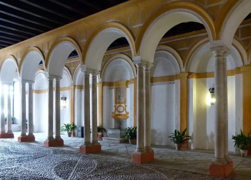 Inner courtyard, Alcazar, Seville