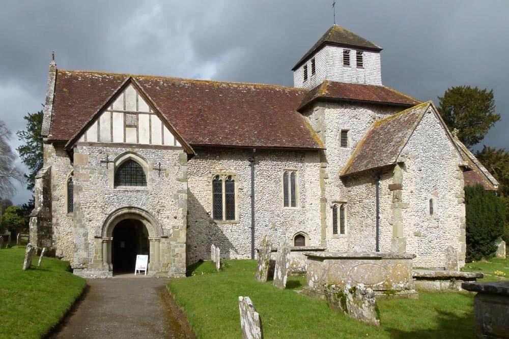 Breamore Church