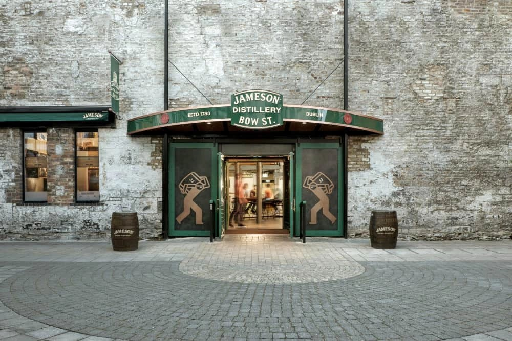Jameson Distillery Bow St Dublin