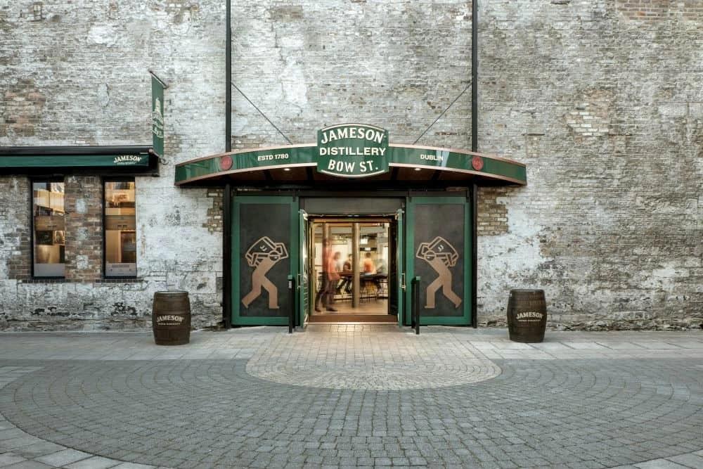 Jameson Distillery Bow St Dublin