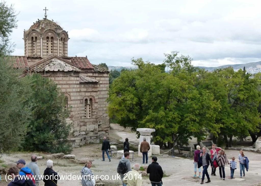 Agioi Apostoloi, Athens - www.worldwidewriter.co.uk