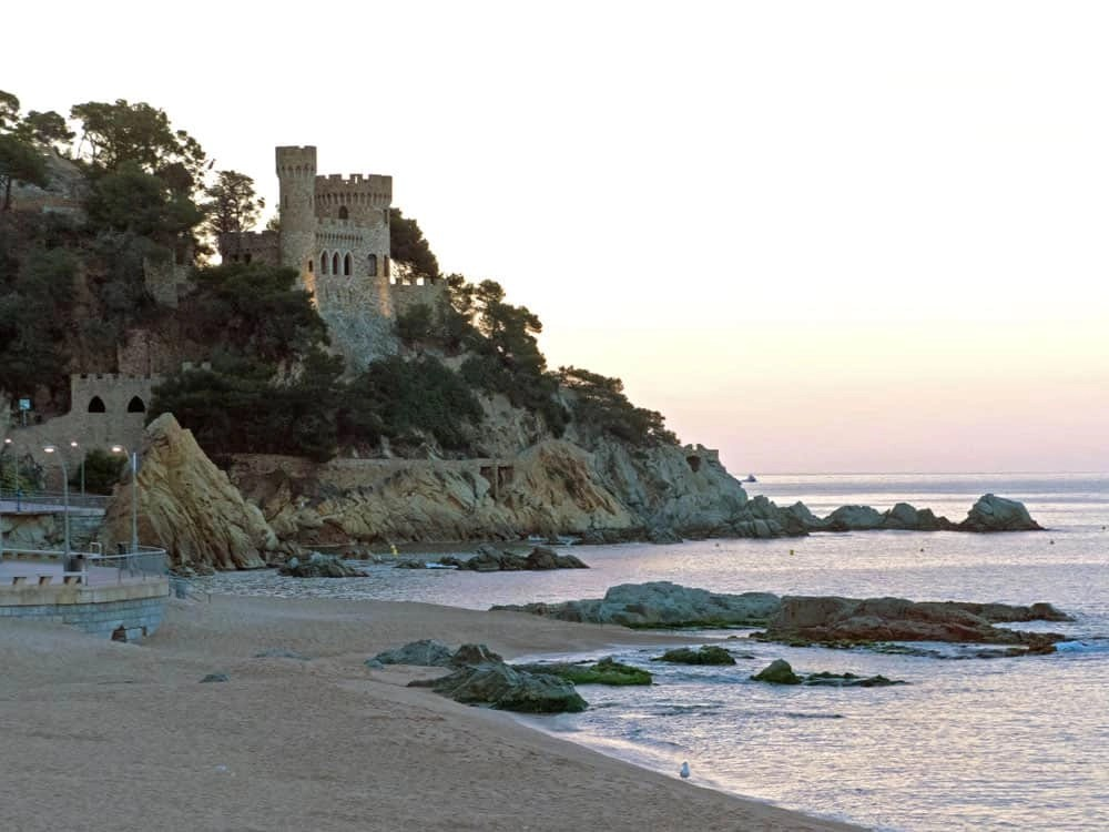Playa Castle, Lloret de Mar