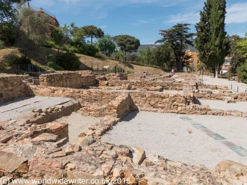 Roman villa, Tossa de Mar