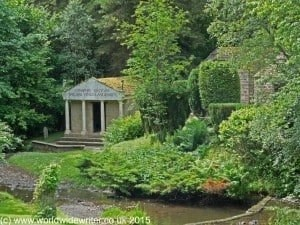 Temple to the Nymphs, Vindolanda Roman Fort
