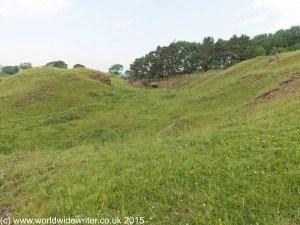 Vallum, Hadrian's Wall