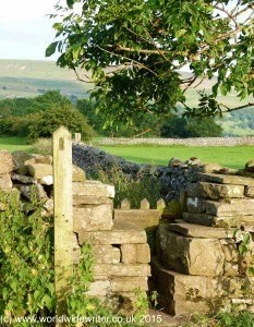 Stile in the Yorkshire Dales