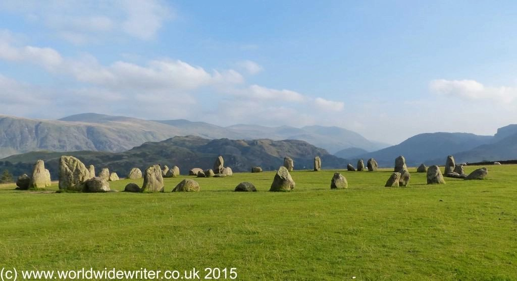 Castlerigg Stone Circle, Cumbria - www.worldwidewriter.co.uk