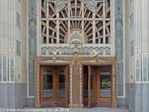 Doorway of the Marine Building