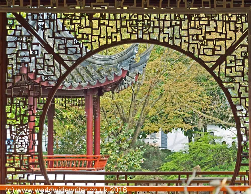 Pavilion at the Dr Sun Yat Sen Classical Chinese Garden