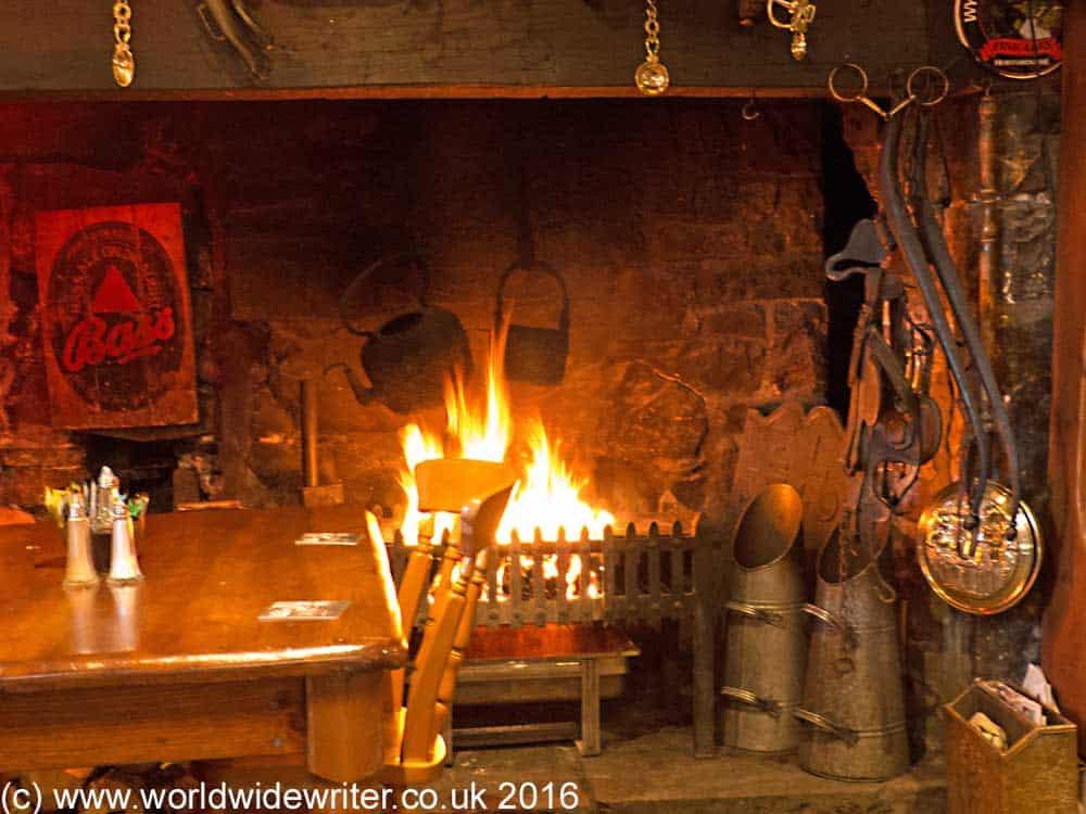 Inside the Plough and Harrow