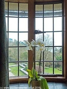 Bedroom at Coleton Fishacre